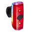 Knog POP r Fietsverlichting rode LED bont